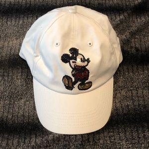 Disney Mickey Mouse Sequin Baseball Cap